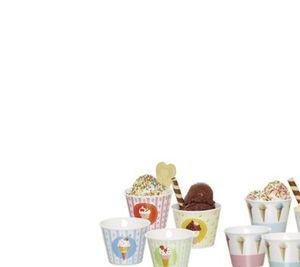 4 Eisschalen
