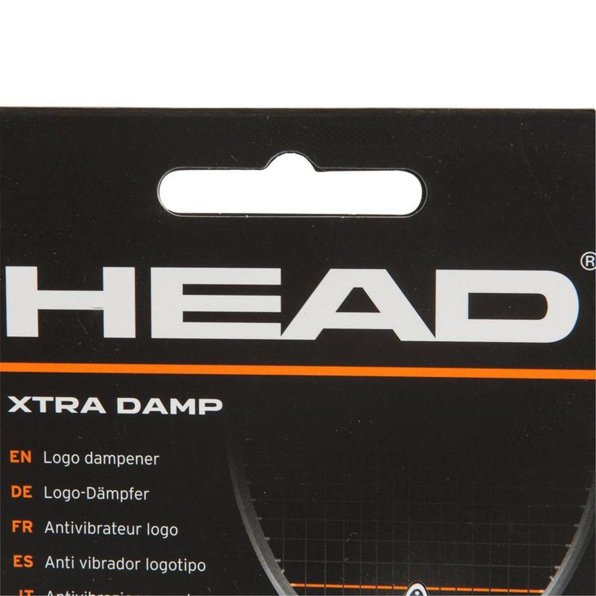 Bild 5 von HEAD Tennis Vibrationsdämpfer Xtra Damp , Größe: SCHWARZ