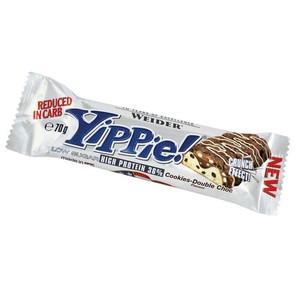 Proteinriegel Eiweißriegel Yippie Cookies 70g WEIDER