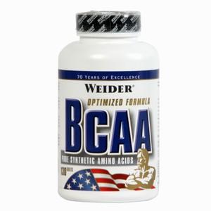 BCAA-Kapseln Aminosäuren 130 Stück WEIDER