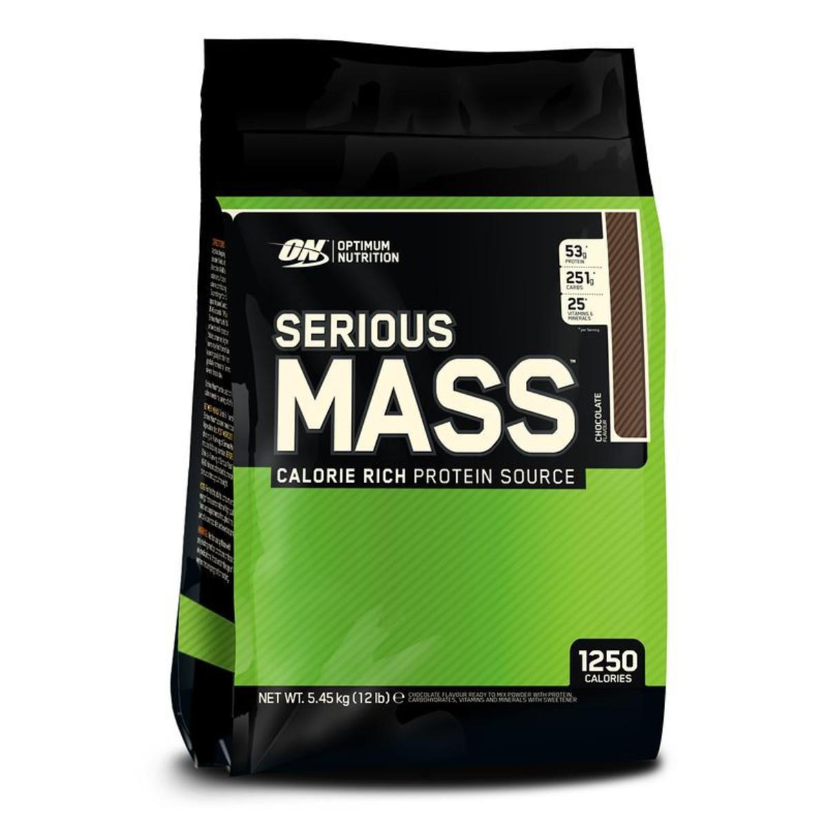 Bild 2 von Mass Gainer Serious Mass Schoko 5,4 kg