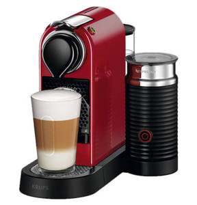 """Nespresso             Krups Espresso-Automat """"New CitiZ&milk XN7605"""", rot"""