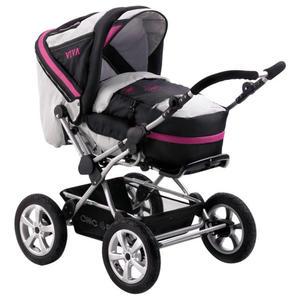 Chic 4 Baby Kombi-Kinderwagen ´´Viva´´, fuchsia 2013