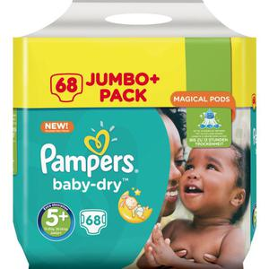 Pampers Baby Dry Junior+ Windeln Jumbo Pack