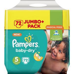 Pampers Baby Dry Junior Windeln Jumbo Pack