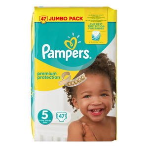 Pampers Premium Protection Junior Windeln Jumbo Pack