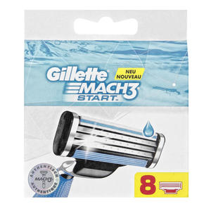 Gillette Mach 3 Start Rasierklingen
