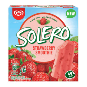 Langnese Solero Strawberry Smoothie