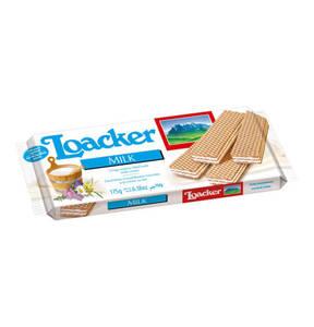 Loacker             Waffeln Milk 175g                  (6 Stück)