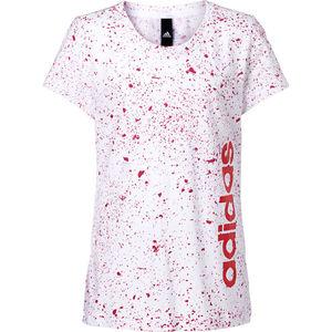 adidas Mädchen T-Shirt Allover-Print