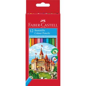 Faber Castell 12er-Set Buntstifte Castle