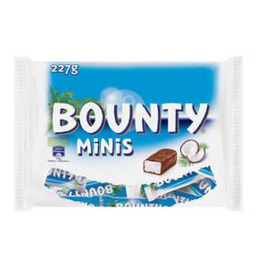 Mars             Bounty Minis, 7 Stück, 227g                  (4 Stück)