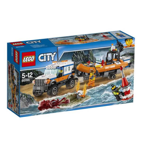 Lego City Geländewagen Mit Rettungsboot 60165 Von Galeria Kaufhof