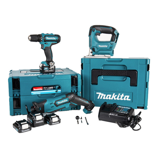 makita 10 8 v aktionspaket akkuschrauber stichs ge recipros ge von contorion ansehen. Black Bedroom Furniture Sets. Home Design Ideas