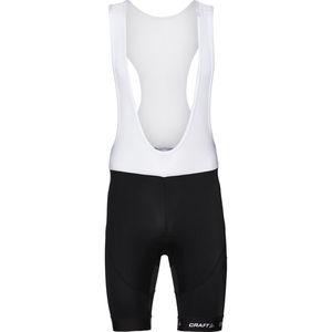 Craft Herren Trägerhose Bib Shorts, schwarz/weiß