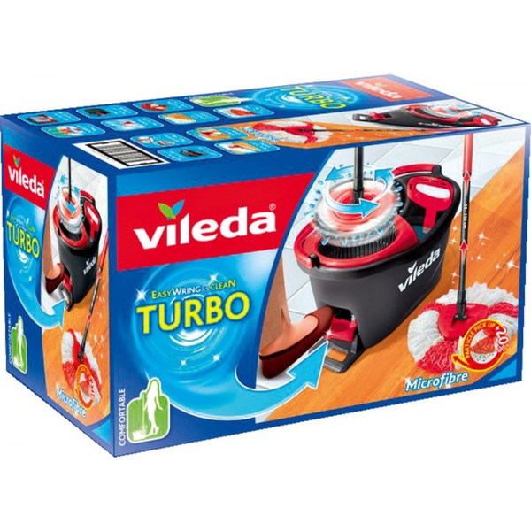vileda Turbo Easy Wring + Clean Komplettset