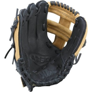 WILSON Baseballhandschuh Regular rechts Kinder 9 Zoll, Größe: Einheitsgröße