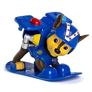 Paw Patrol - Winter Rescues Action Pack Pup, Chase mit Snowboard