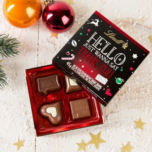 Lindt Hello Xmas Thank you 45g 6,20 € / 100g