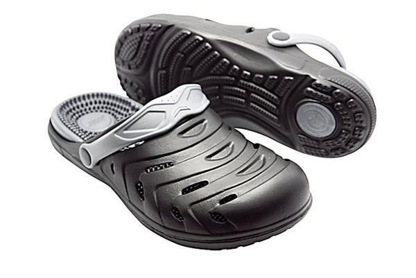 separation shoes 310b9 fb29d happy® shoes Clogs Massage-Wohlfühl-Schuh, schwarz (Größe: 44)