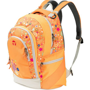 "Take it easy Schulrucksack ""Berlin Orange Flower"""