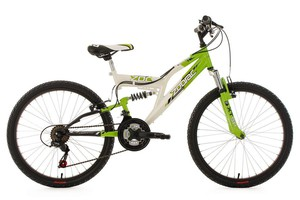 "KS Cycling Kinderfahrrad Mountainbike Fully 24"" Zodiac"