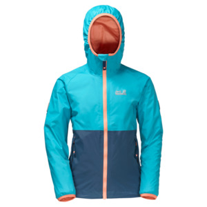 Jack Wolfskin Rainy Days Girls 140 lake blue