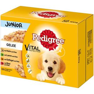 Pedigree Junior Vital Protection™ Fleischauswahl mit Gem 3.33 EUR/1 kg