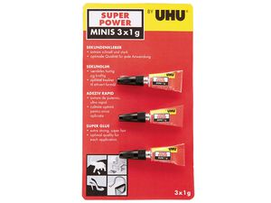 UHU® Super Power Minis 3x 1 g