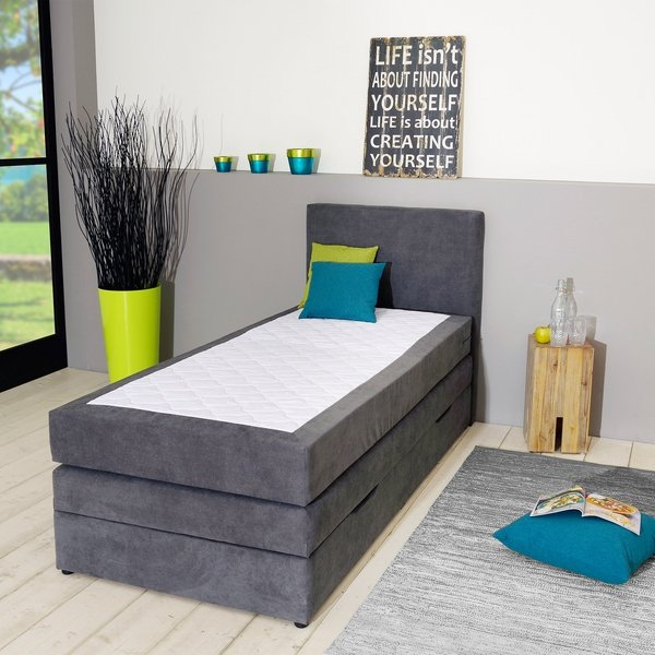 boxspringbett silkeborg 90x200 mit bettkasten von d nisches bettenlager f r 469 ansehen. Black Bedroom Furniture Sets. Home Design Ideas