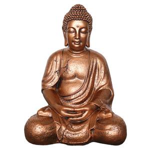 Buddha-Figur (42x30x24, kupfer)