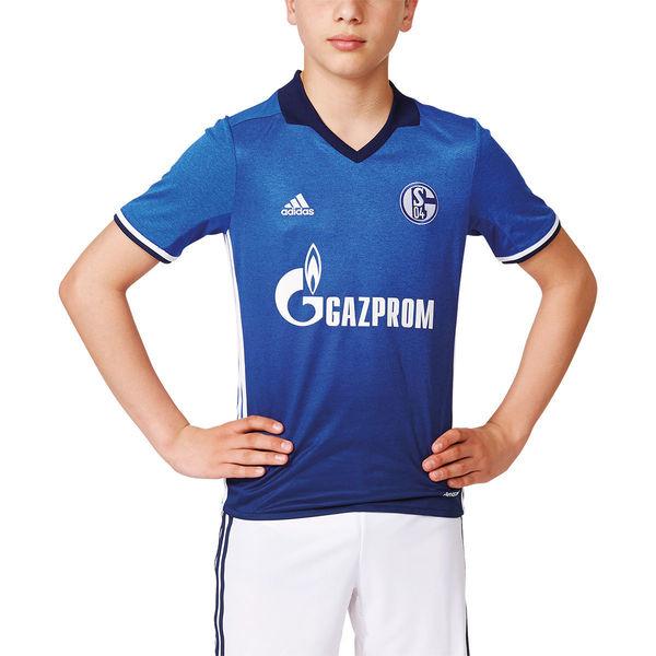 adidas Kinder Heimtrikot FC Schalke 04, 201718 von ansehen!