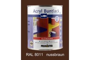 Primaster Acryl Buntlack nussbraun glänzend, 750 ml