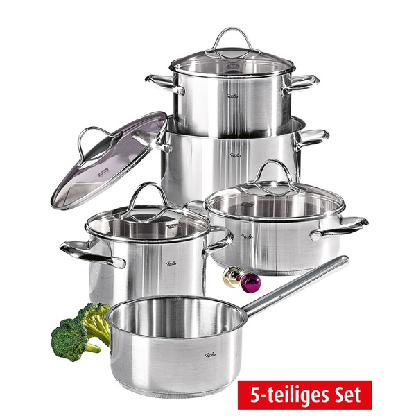 fissler topf set paris 5 teilig von porta m bel f r 149 ansehen. Black Bedroom Furniture Sets. Home Design Ideas