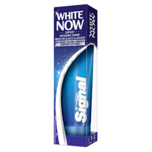 Signal Zahncreme White Now jede 75-ml-Packung