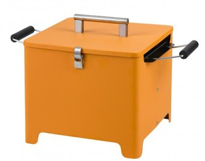 "Tepro, Chill&Grill Holzkohlengrill ""Cube"" orange"