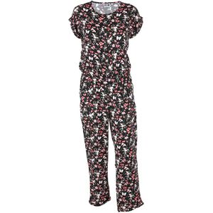 Damen Jumpsuit in floralem Dessin