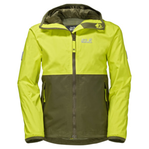 Jack Wolfskin Rainy Days Boys 140 flashing green
