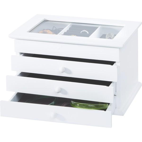 Schmuckbox Julie in Weiß