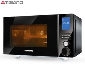 AMBIANO®  Professional Edelstahl-Mikrowelle 4-in-1