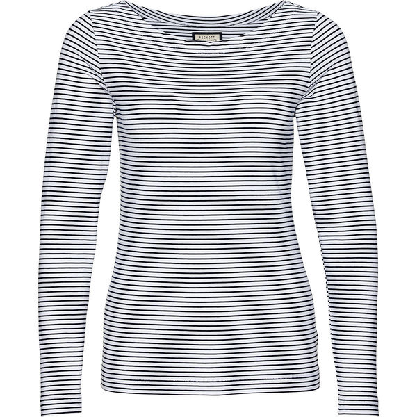 eaccba57f003ef Peckott Damen T-Shirt mit U-Boot Ausschnitt