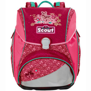 Scout Schulranzen - Set Alpha Fancy Forest, 4-teilig