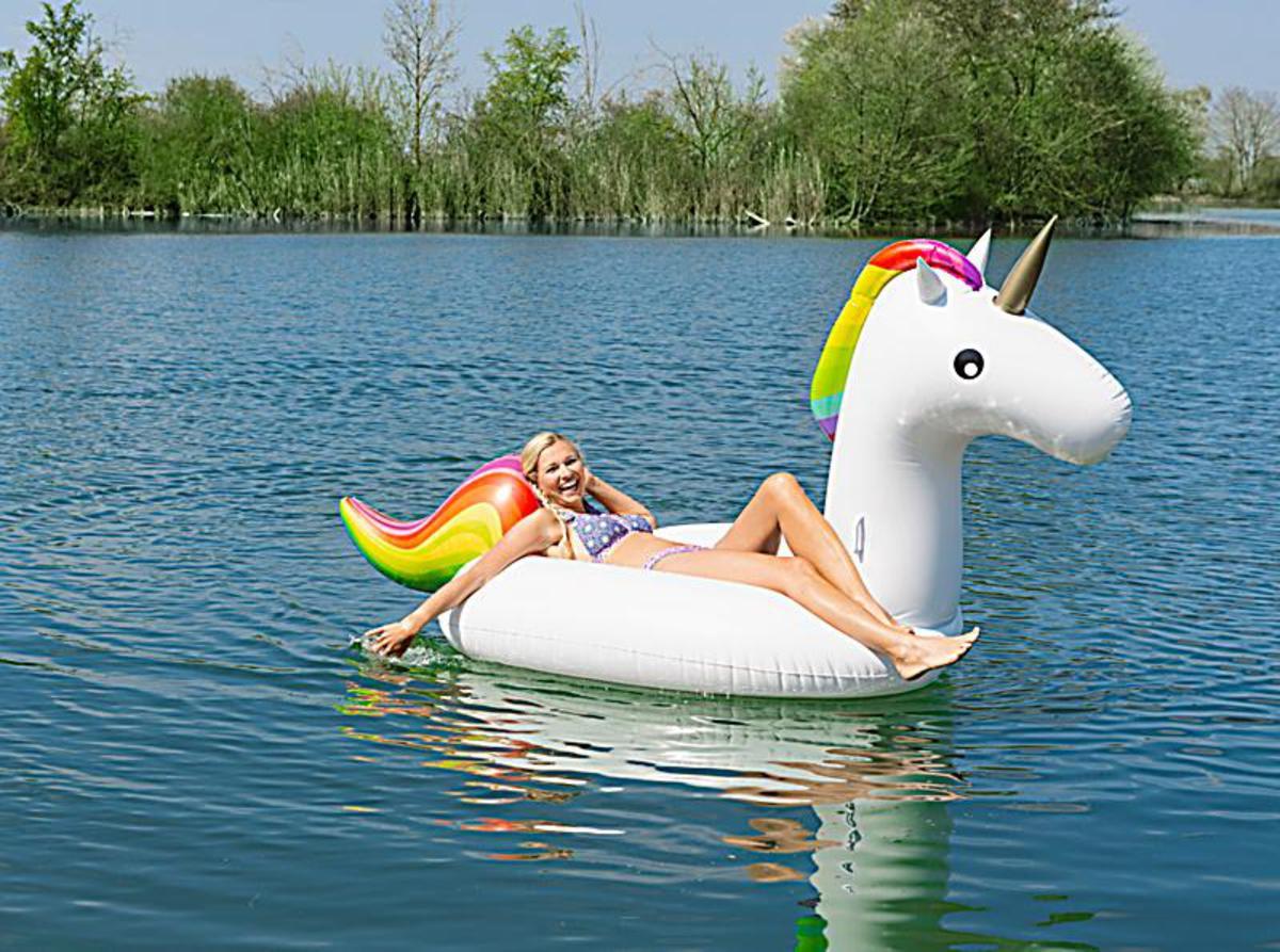 """Bild 1 von Schwimmtier """"Einhorn"""""""
