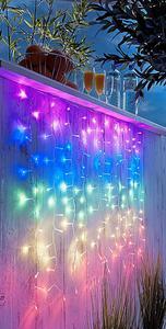 """LED-Lichtervorhang """"Regenbogen"""""""