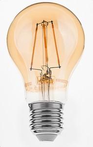 "I Glow LED-Leuchtmittel ""Filamente Gold"" A60"