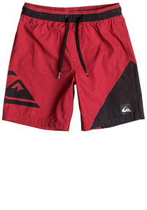 Quiksilver New Wave Volley 15 - Boardshorts für Jungs - Rot