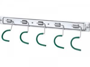 PLANTIFLOR                 Plantiflor Geräteleiste verzinkt 5 Haken