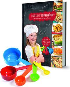 Backhilfe Kinderleichte Becherküche 6-tlg. Set herzhafte Rezepte