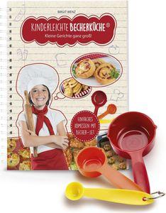 Backhilfe Kinderleichte Becherküche 4-tlg. Set herzhafte Rezepte