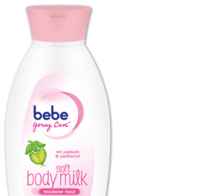 BEBE Soft Body Milk oder Body Lotion Waldbeer Smoothie